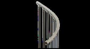 Aluminum Coil Handrail